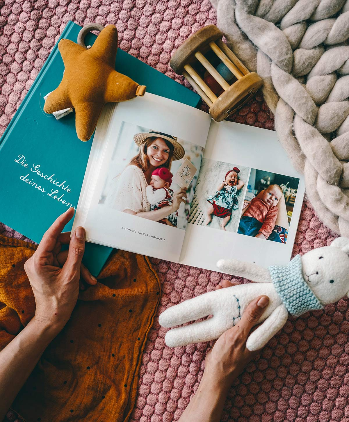 Fotobuch Baby Mutterrolle