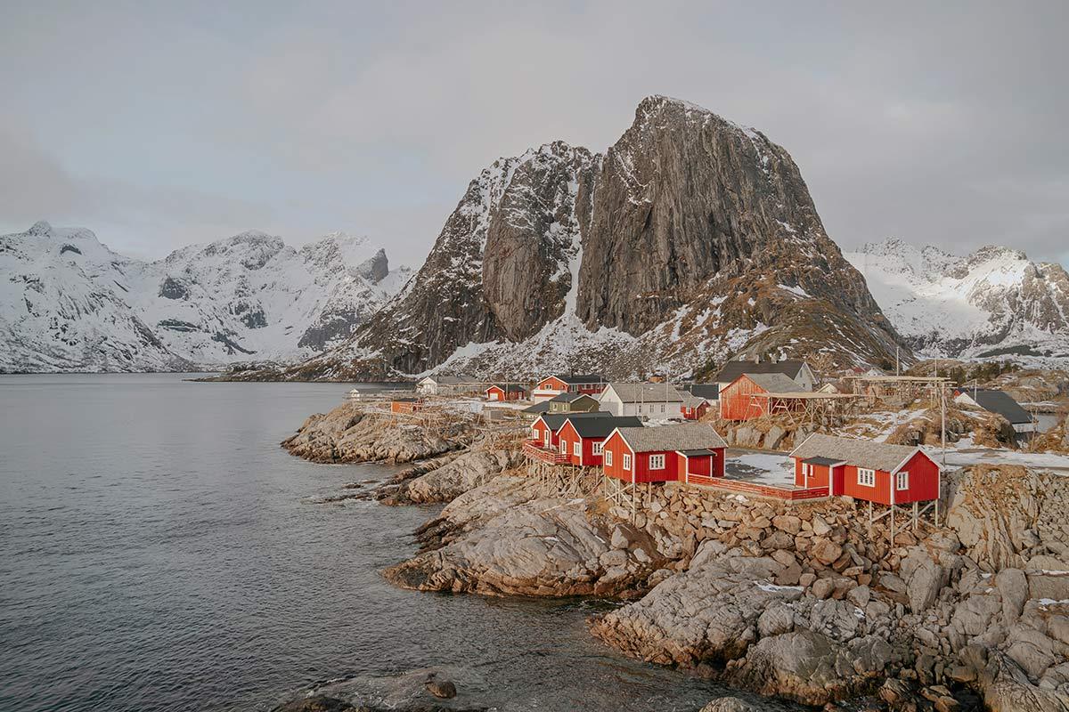 Hamnoy Lofoten Norwegen