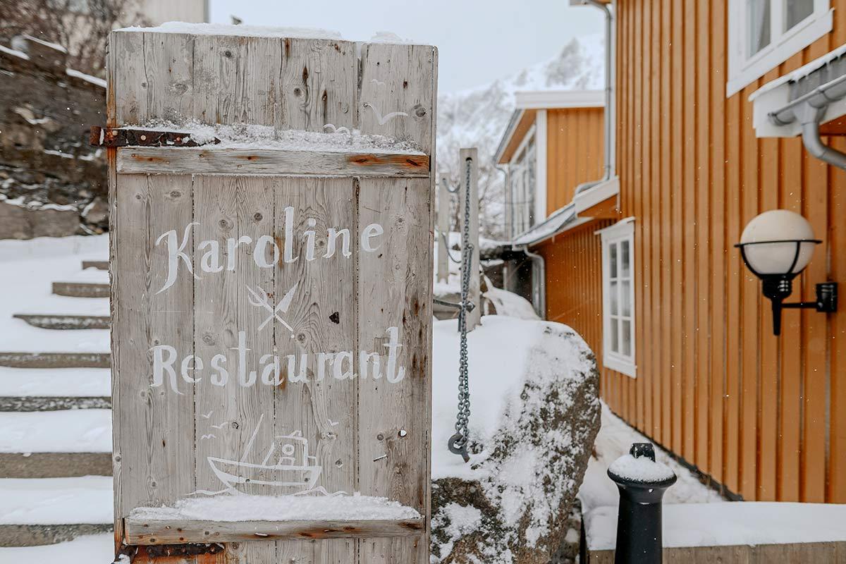 Karoline Restaurant Nusfjord