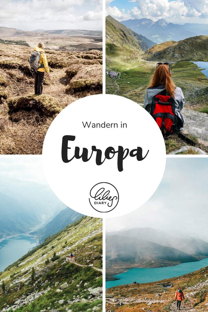 wandern in europa