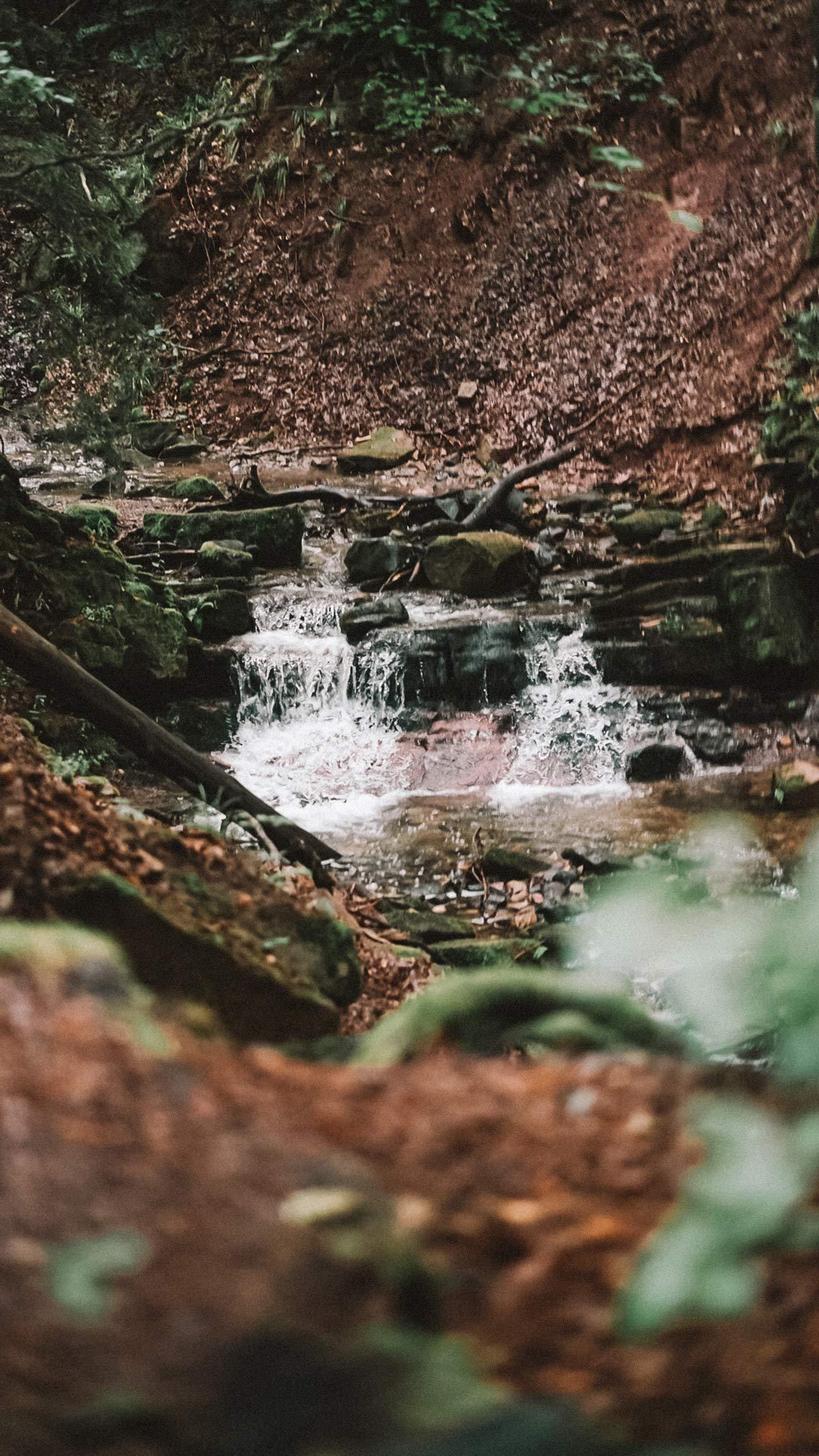 Wasserfall Kaskadenschlucht