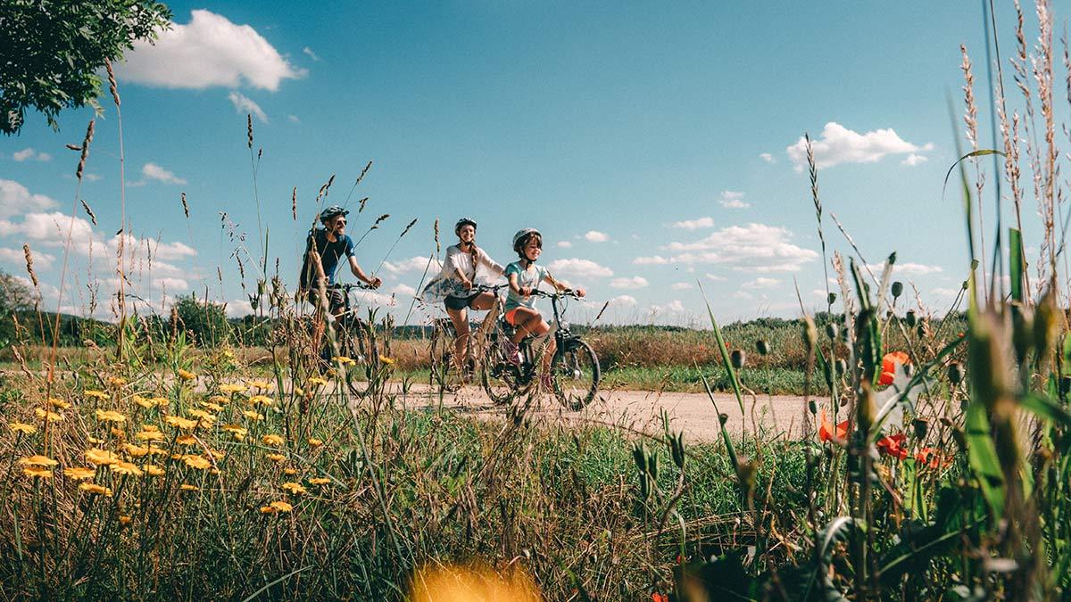 Bad Staffelstein Familienradtour