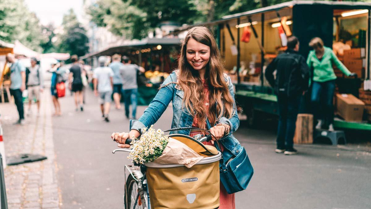Fahrradkorb fuer vorne