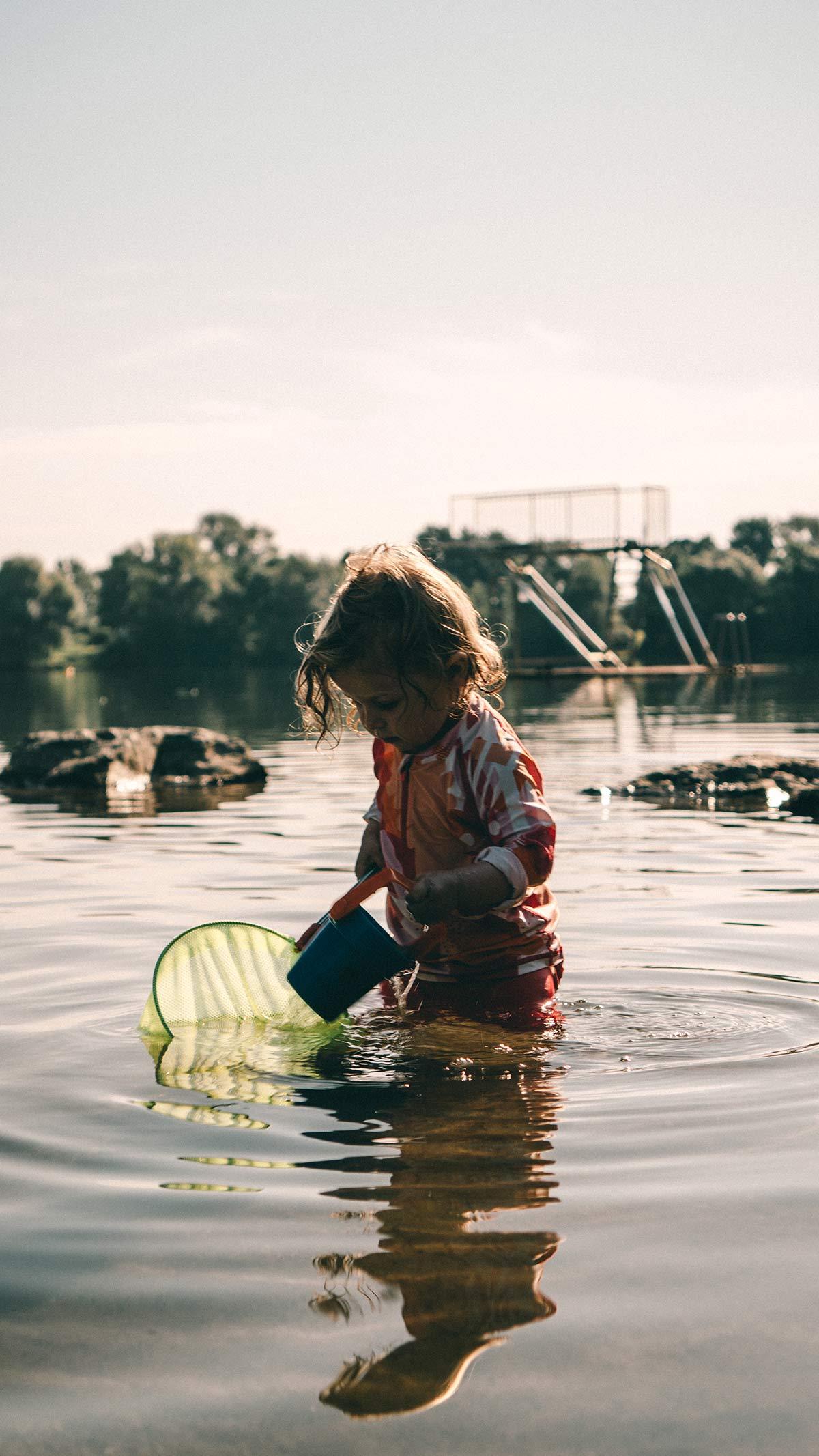 Ostsee Kleinkinder Ufer