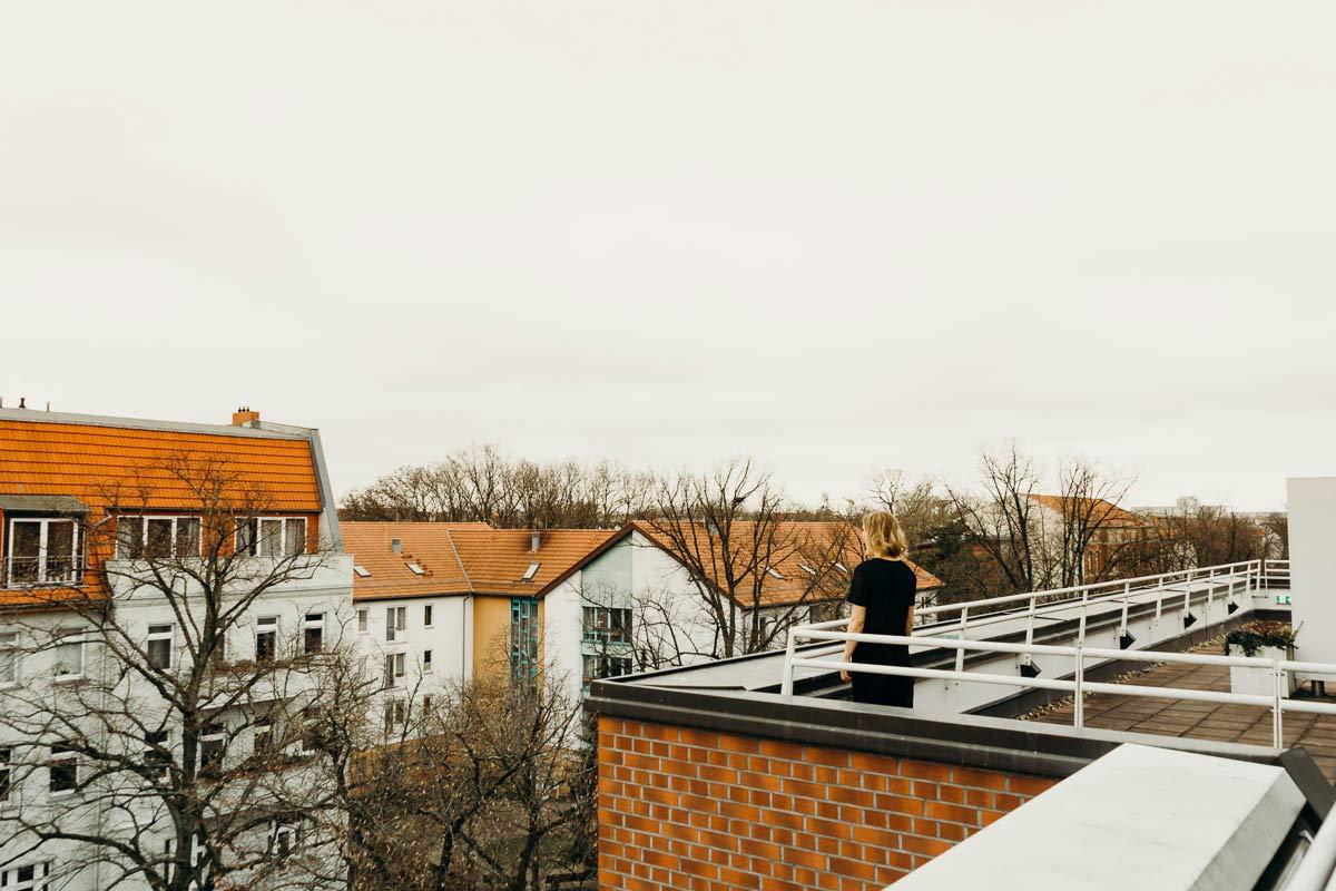 Berlin Living Hotel Weissensee Dachterrasse