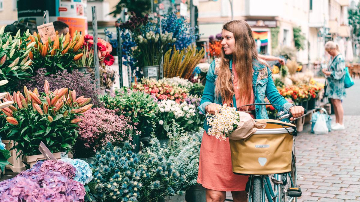 Nachhaltigkeit im Alltag - Wochenmarkt