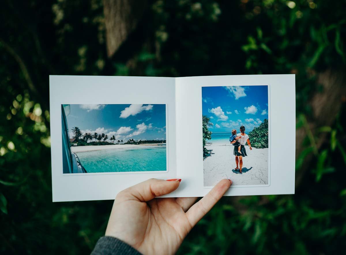 fotobuch der letzten reise
