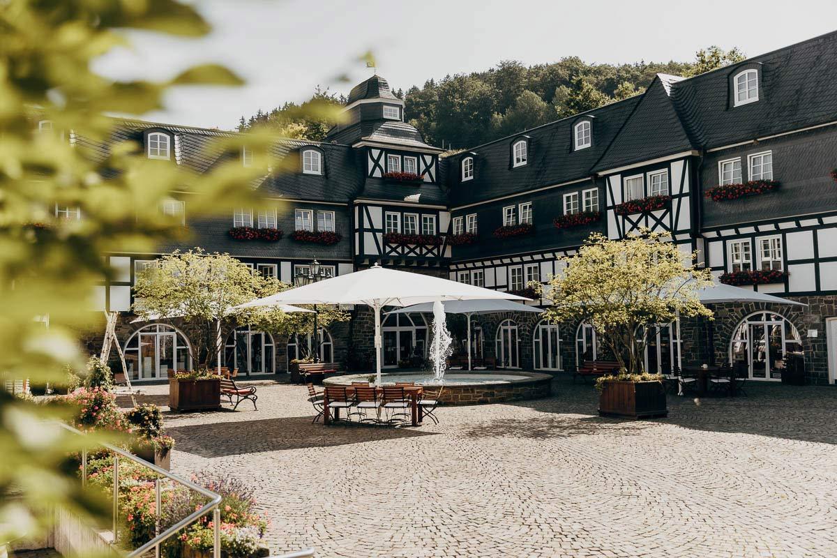 Hotel Deimann Innenhof
