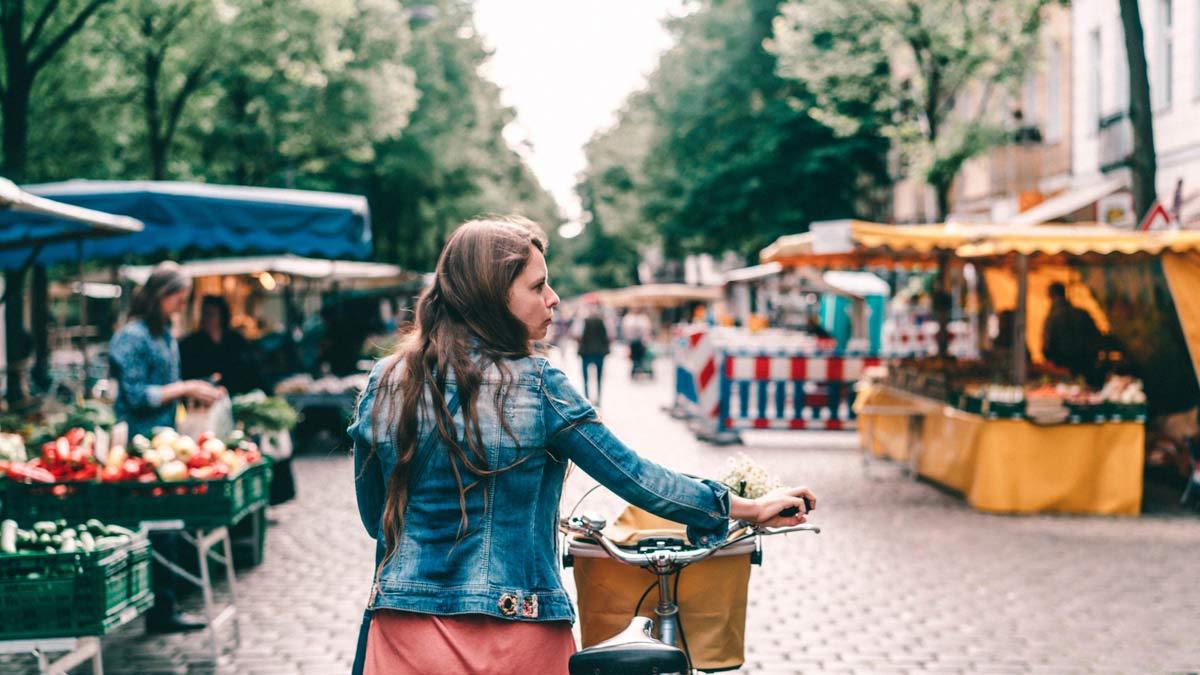Nachhaltiger Markt in Berlin