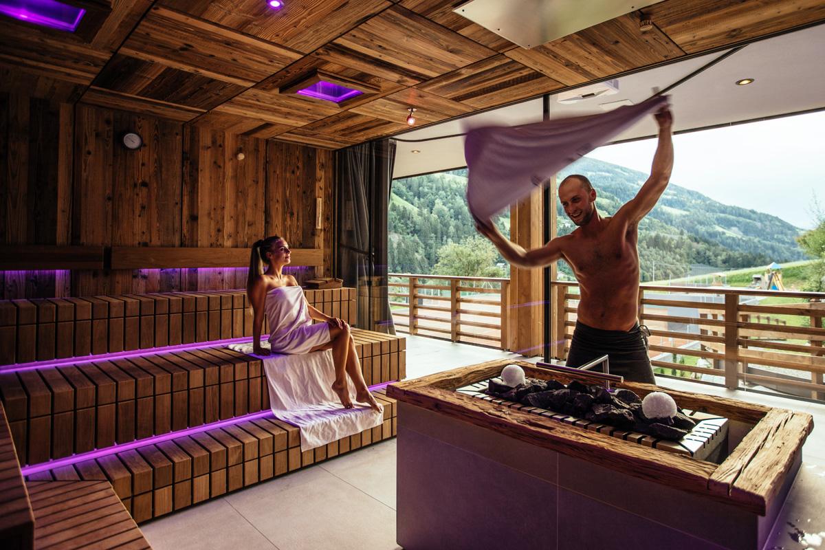 Andreus Resorts in Südtirol Sauna