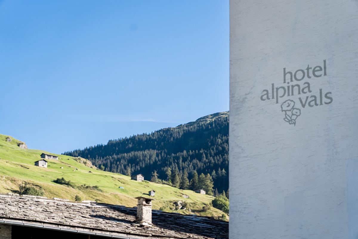 Hotel Alpina in Vals Schweiz
