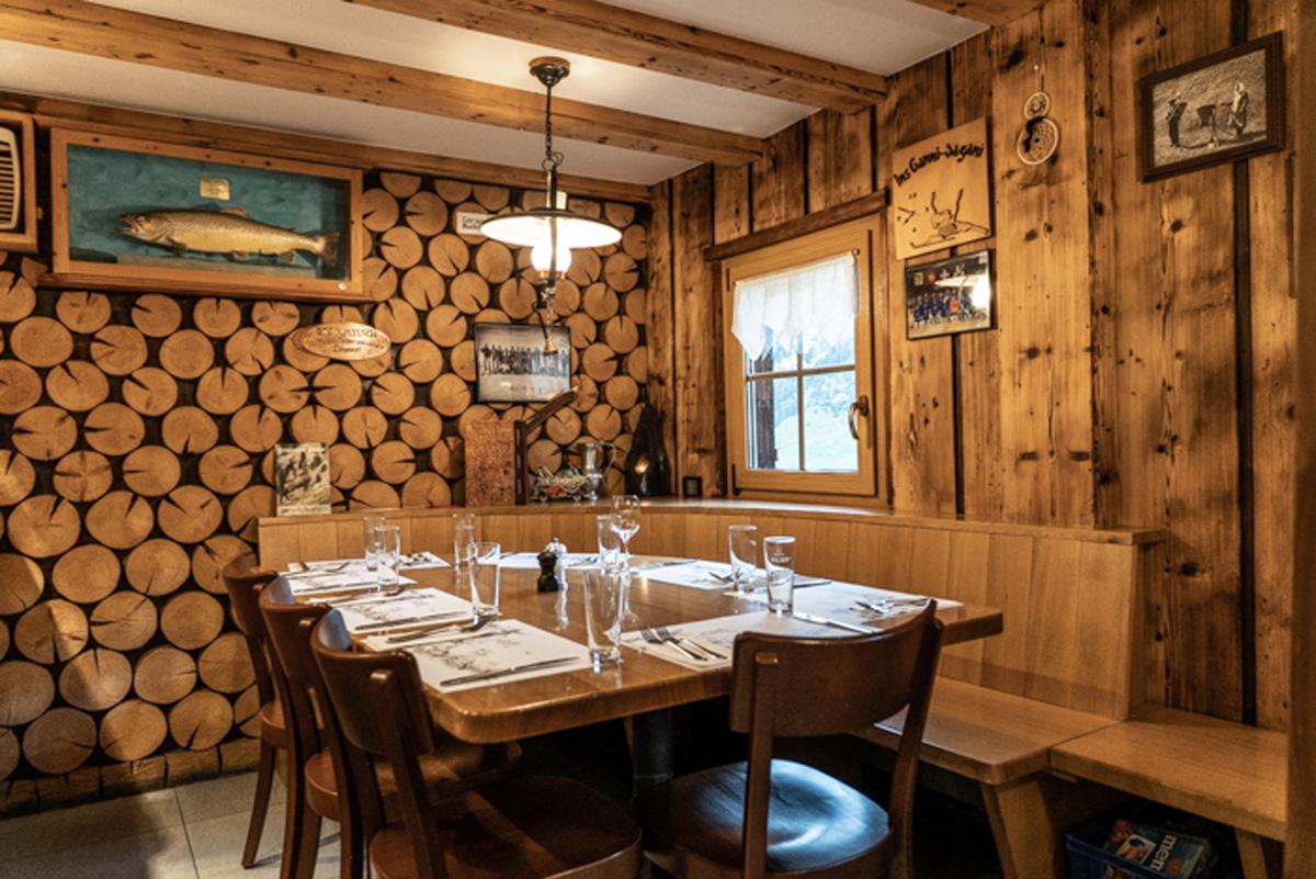 Innenraum Restaurant Ganni