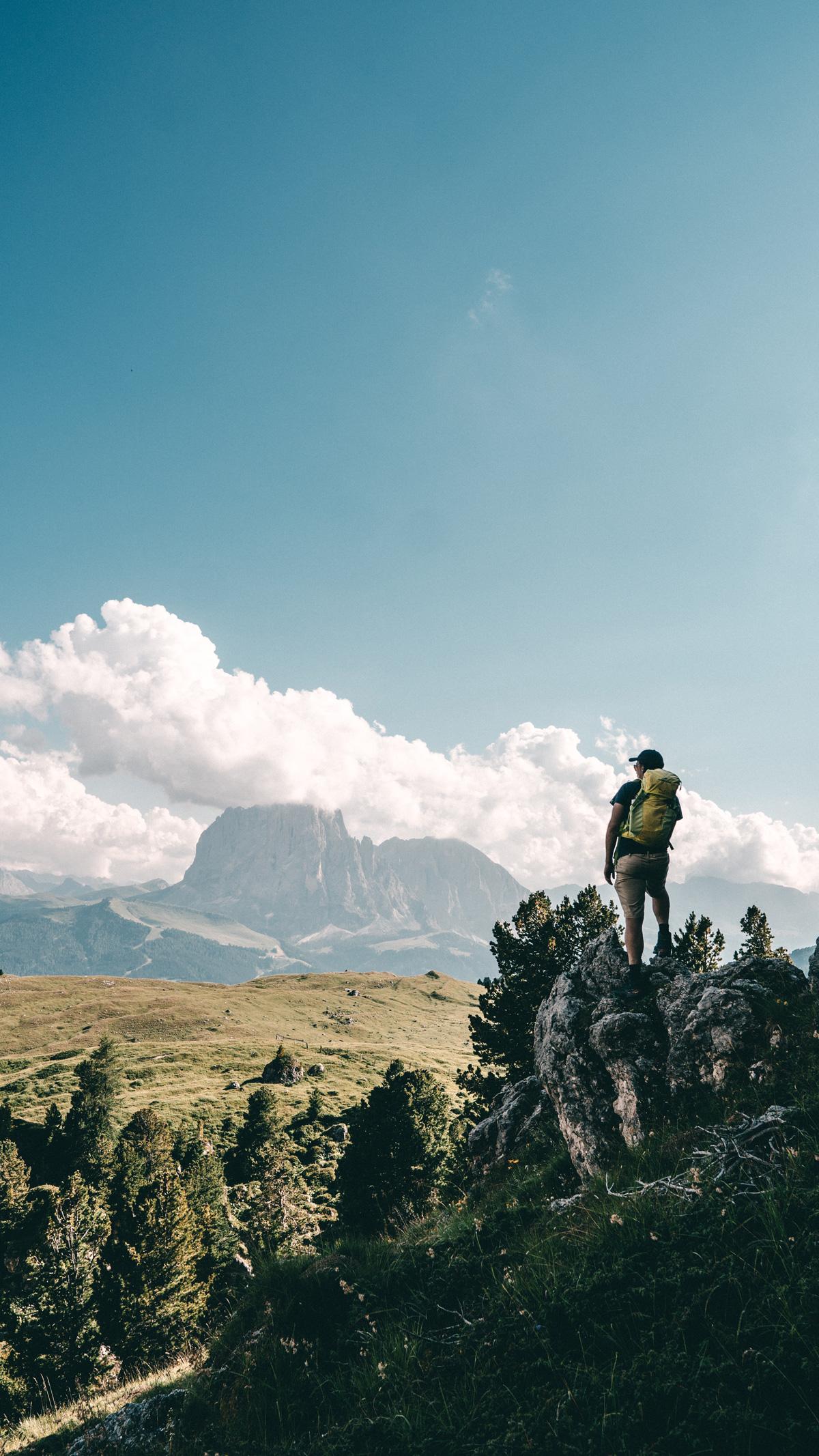 Wanderung Groeden Langkofel