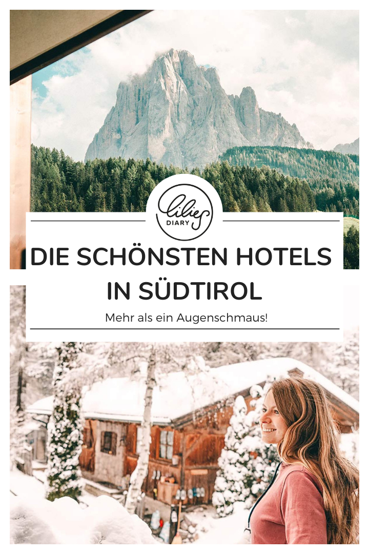 Pin Die schoensten Hotels in Suedtirol