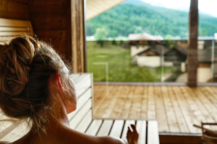 Die schoensten Hotels in Suedtirol Sauna Hotel Joas