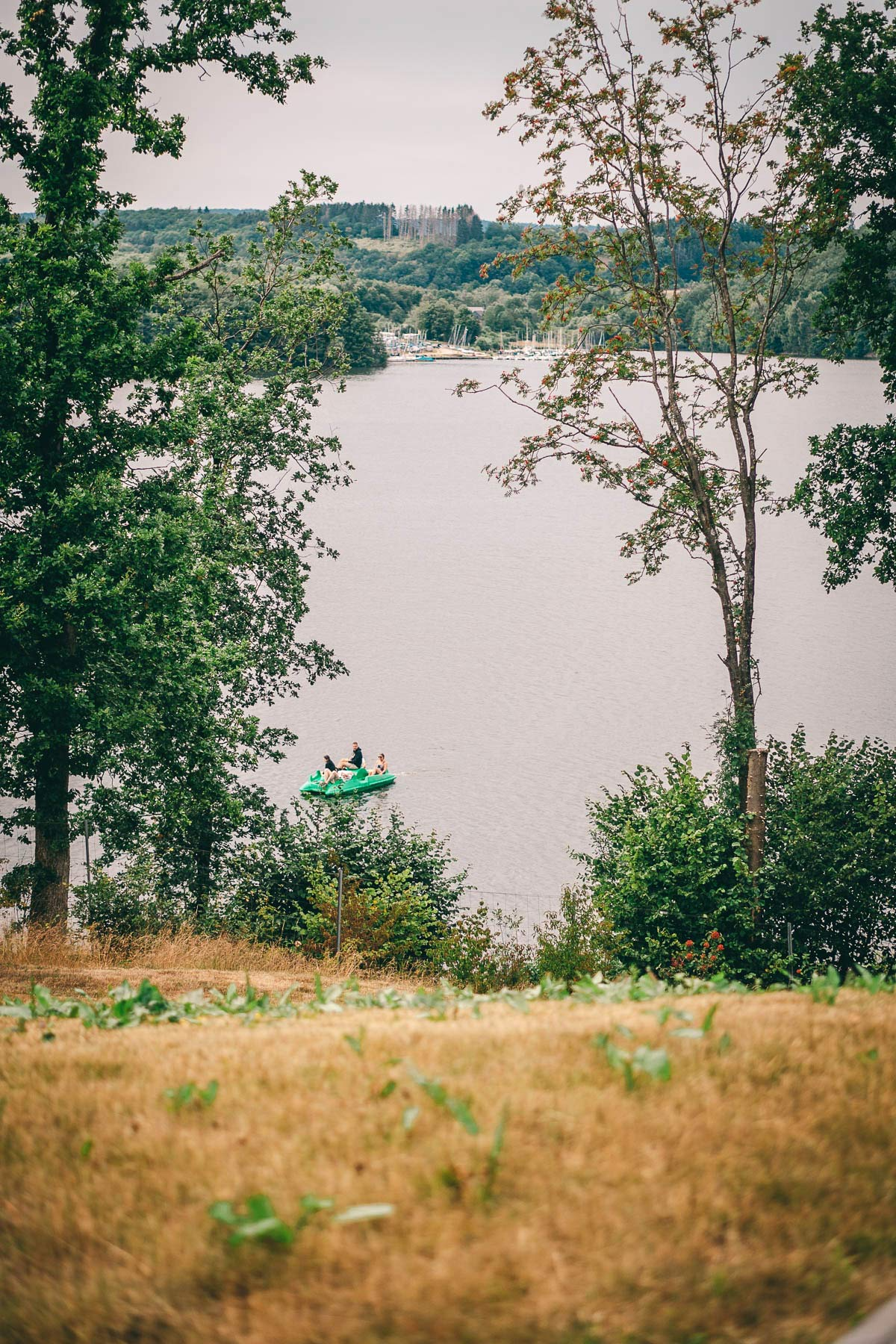 Saarland Sehenswuerdigkeiten am Bostalsee
