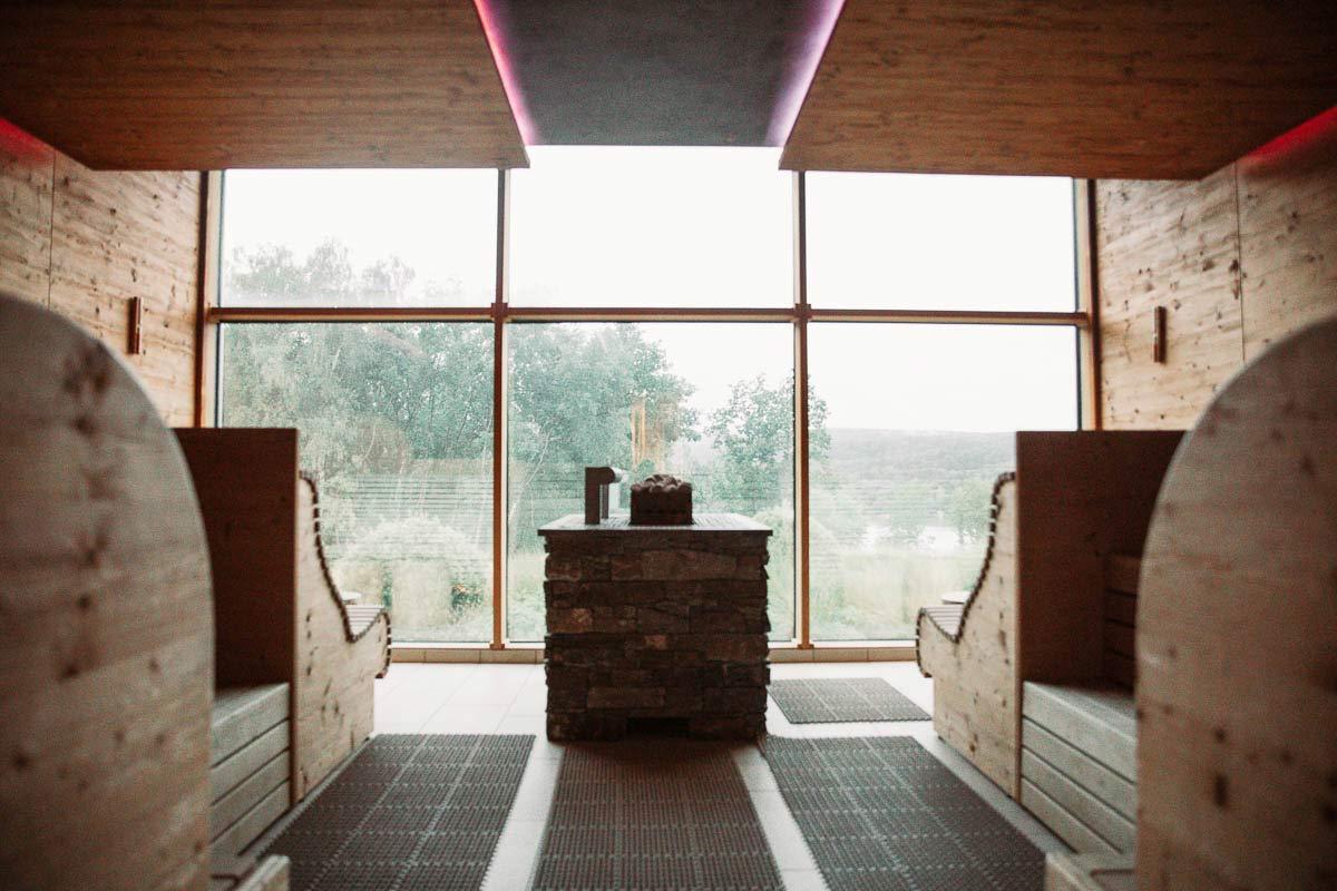 Sauna der Seezeeitlodge