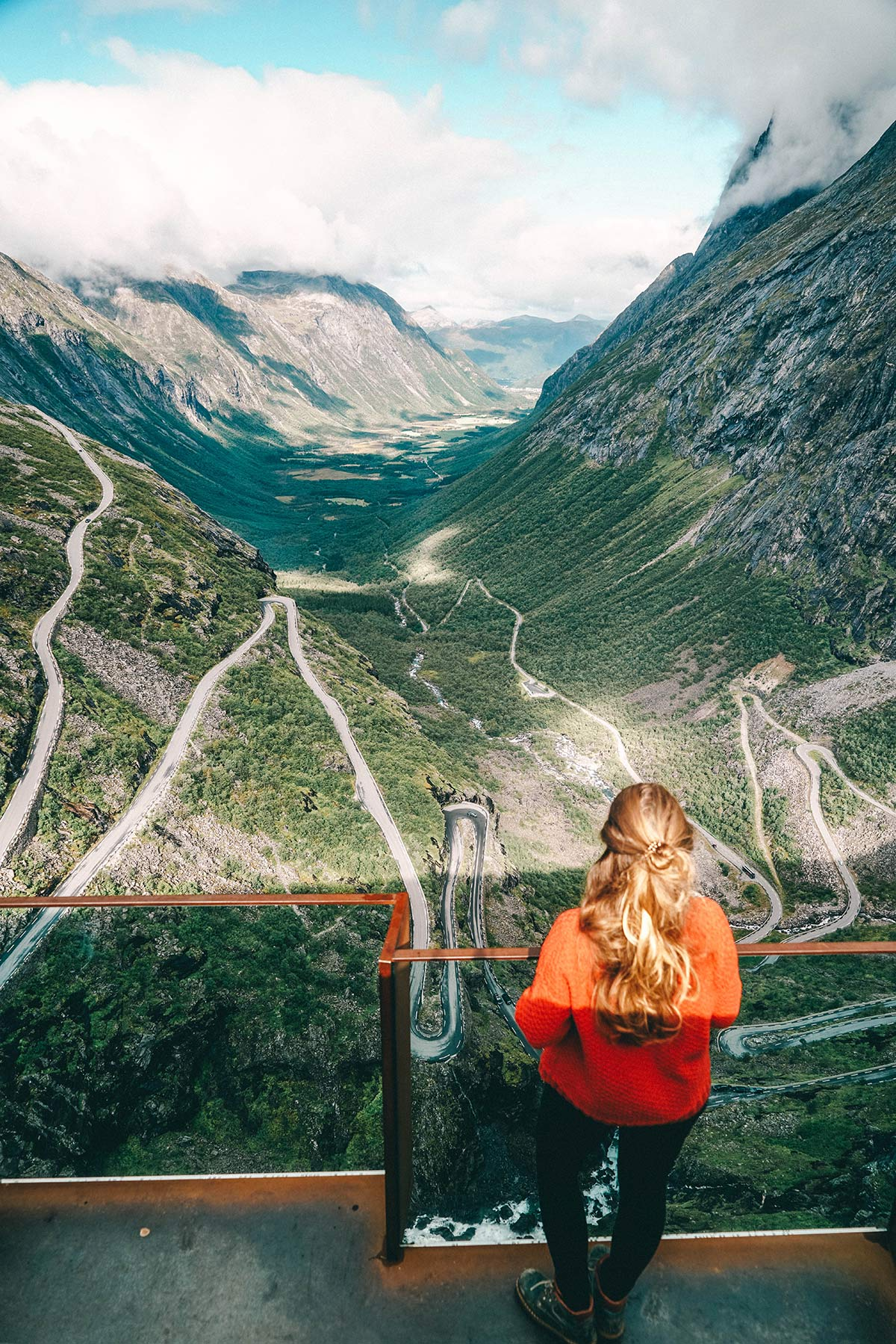 norwegen aussichtsplattform trollstigen