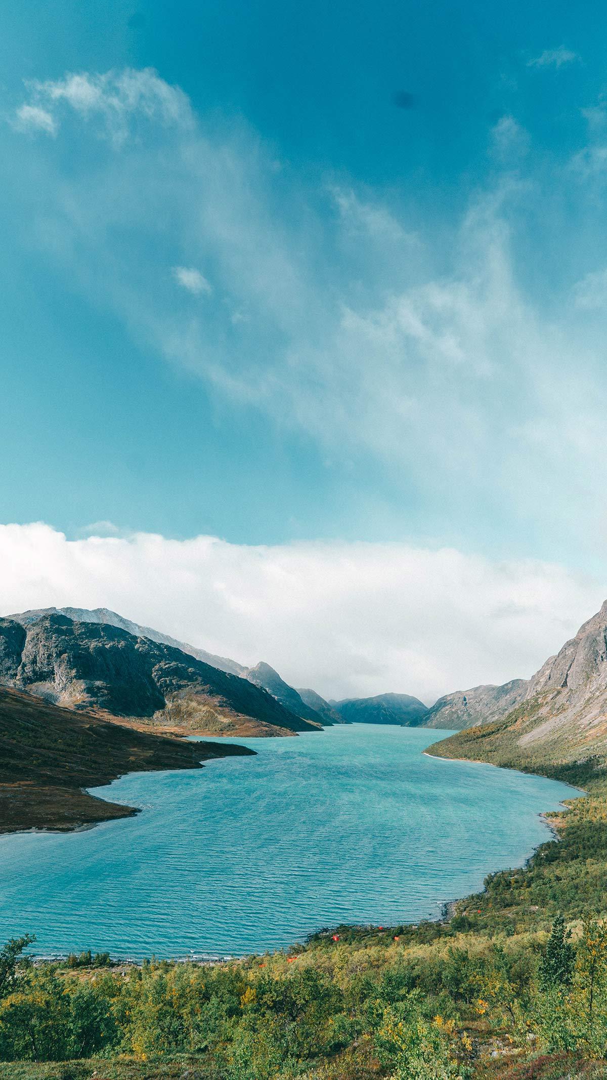 Norwegen im Sommer