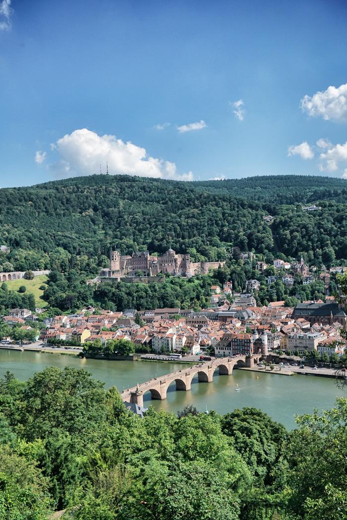 heidelberg schönsten Orte in Baden-Württemberg