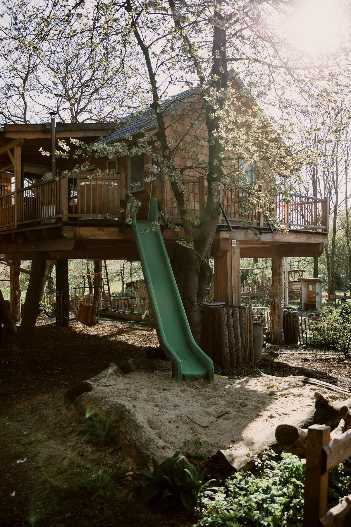 Baumhausurlaub Wendland
