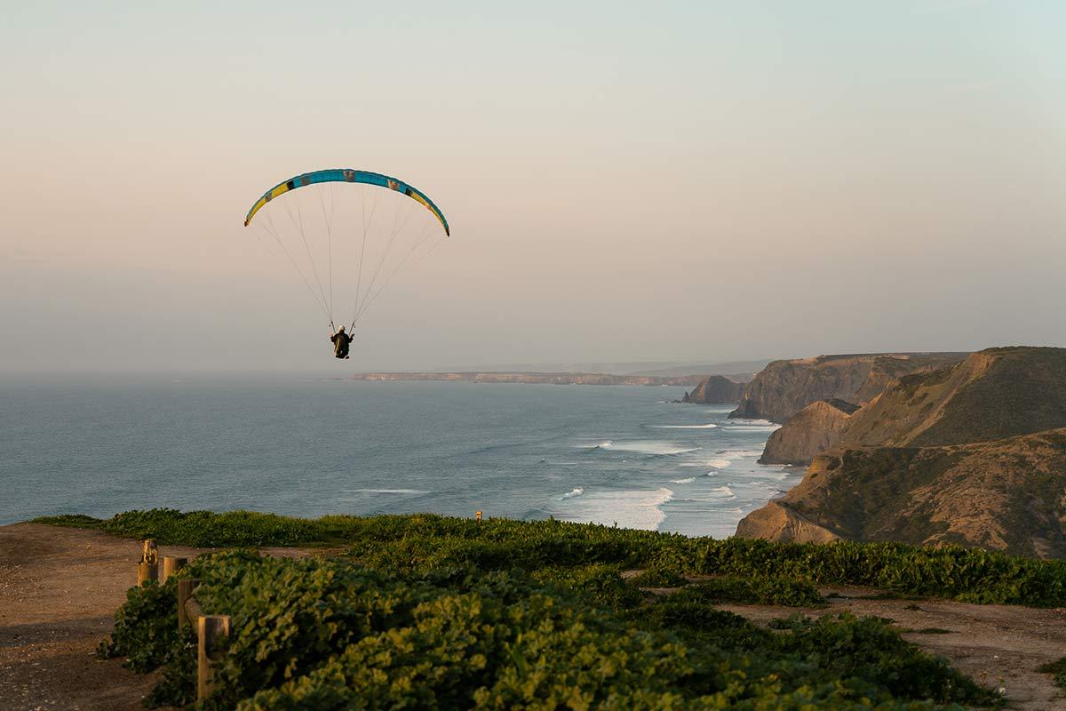 Castelejo Viewpoint Paragliding