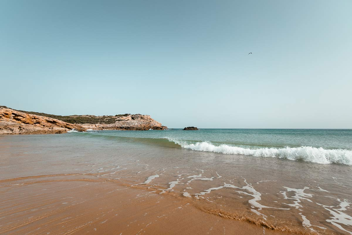 Praia da Ingrina Portugal Straende
