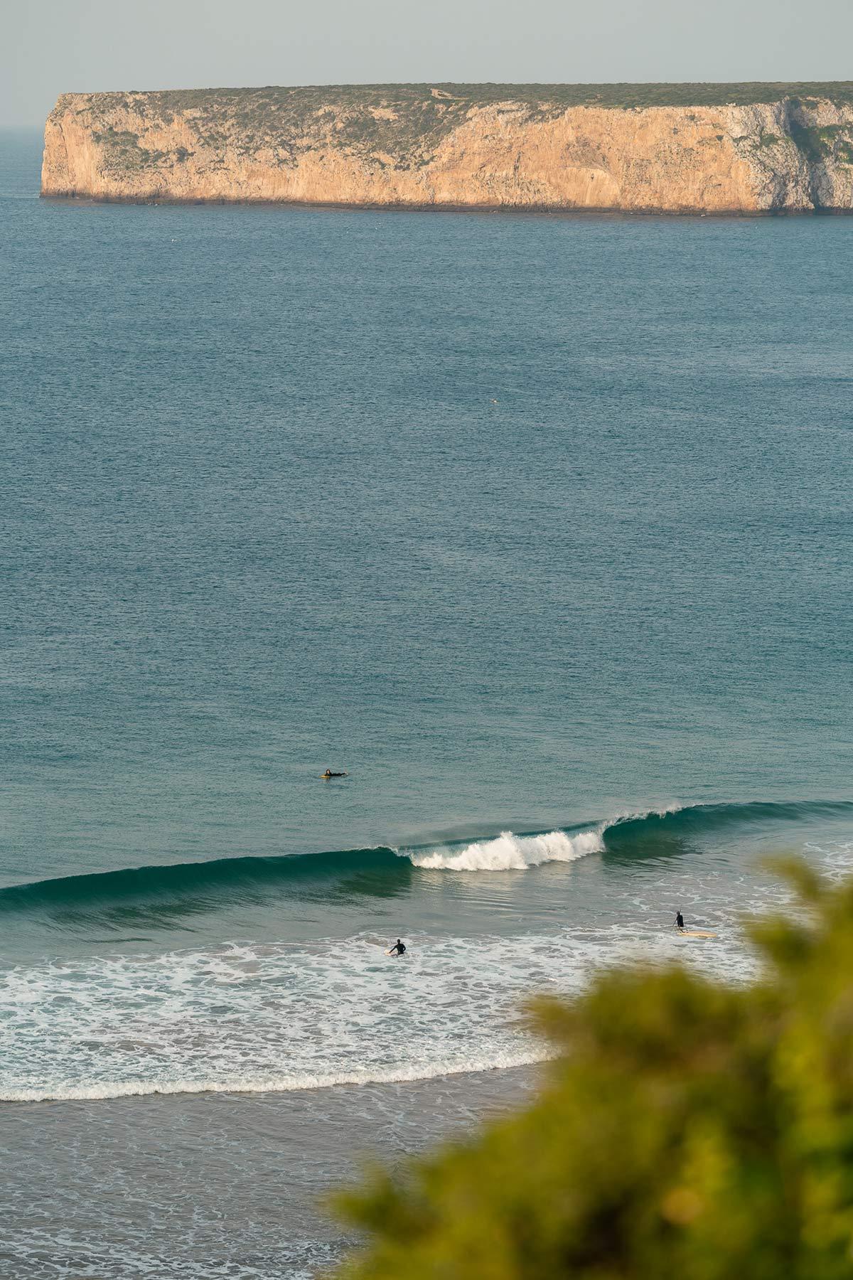 Praia do Beliche Portugal Surfen