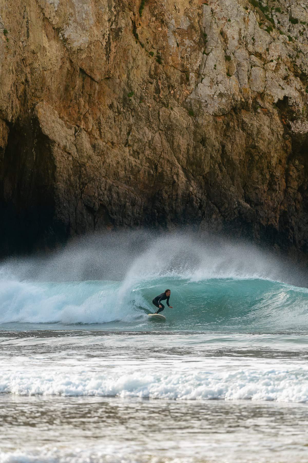 Praia do Beliche Surfer