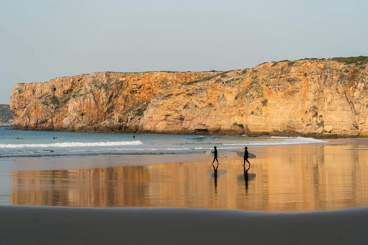Praia do Beliche Surfreise