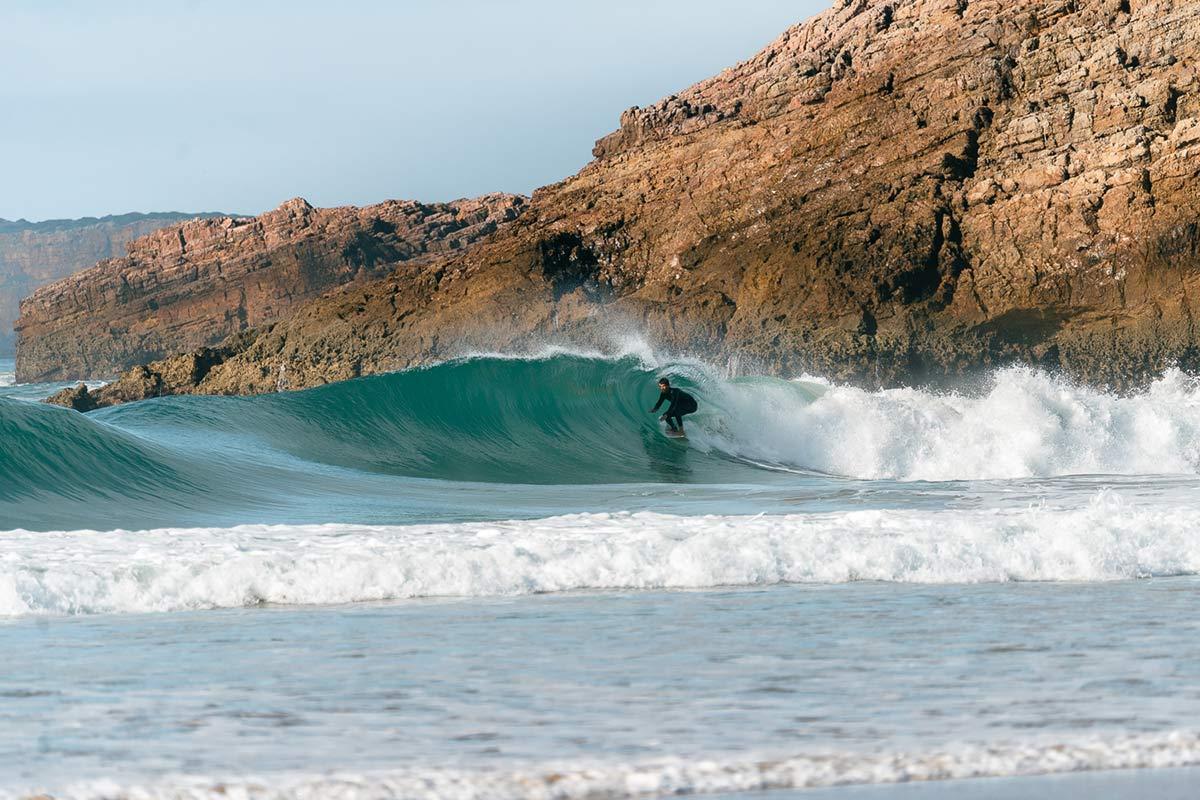 Praia do Zavial Portugal