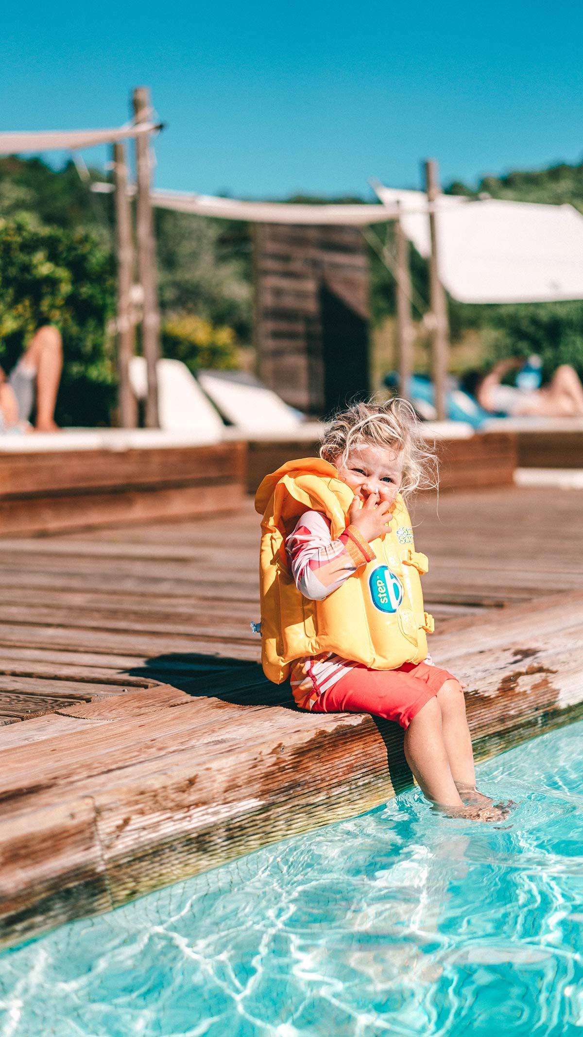 Alma am Pool in Portugal