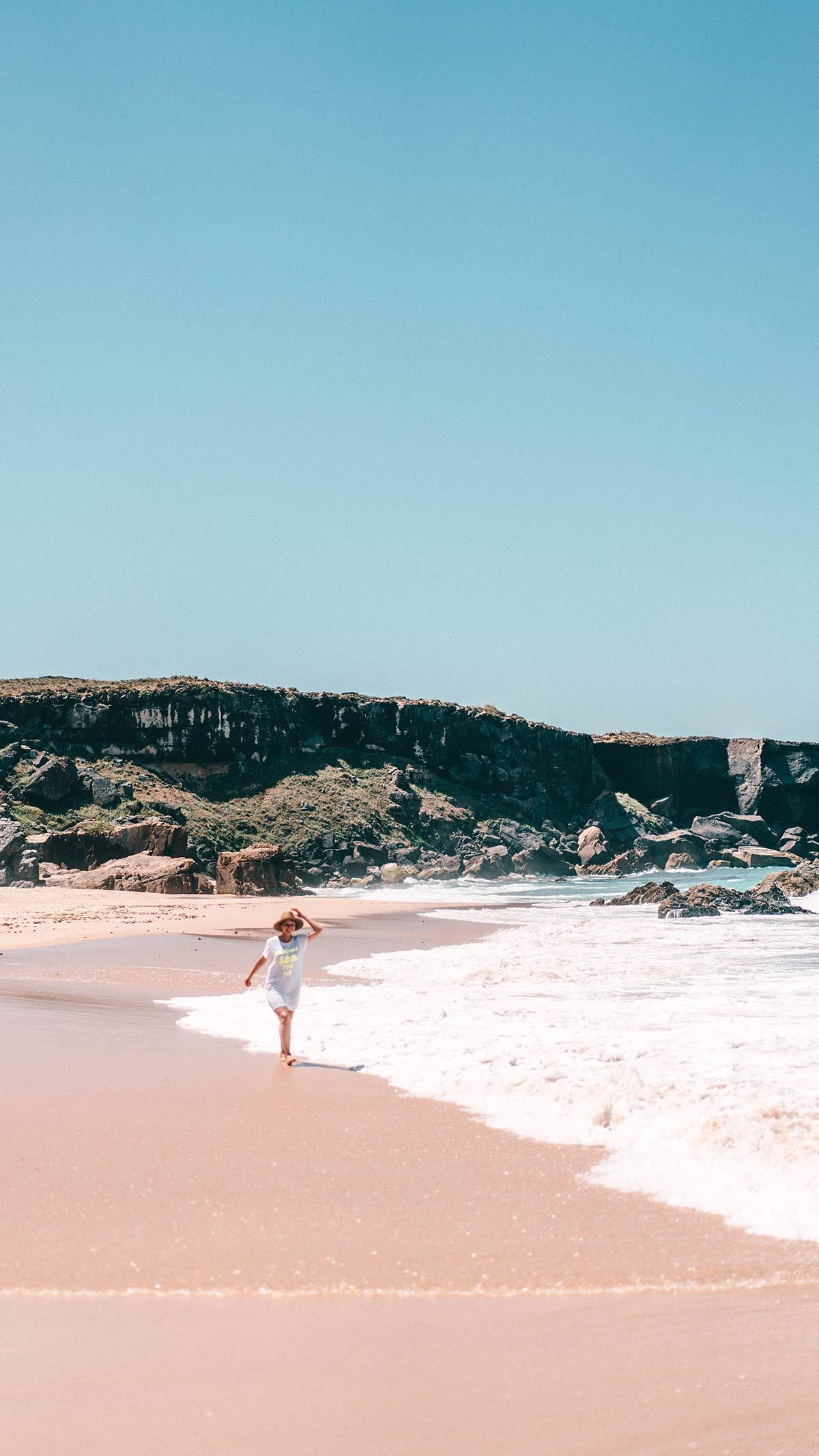 Praia do Malhao in Portugal