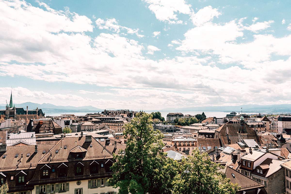 Genfersee Sehenswürdigkeiten Lausanne