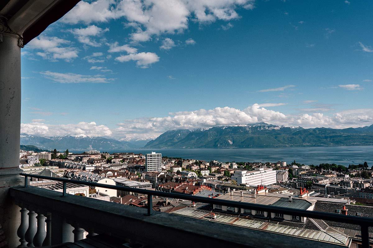 Coco Chanel Balkon Genfersee Sehenswürdigkeiten