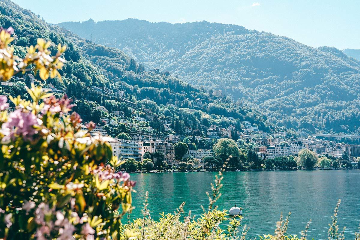Montreux in der Schweiz