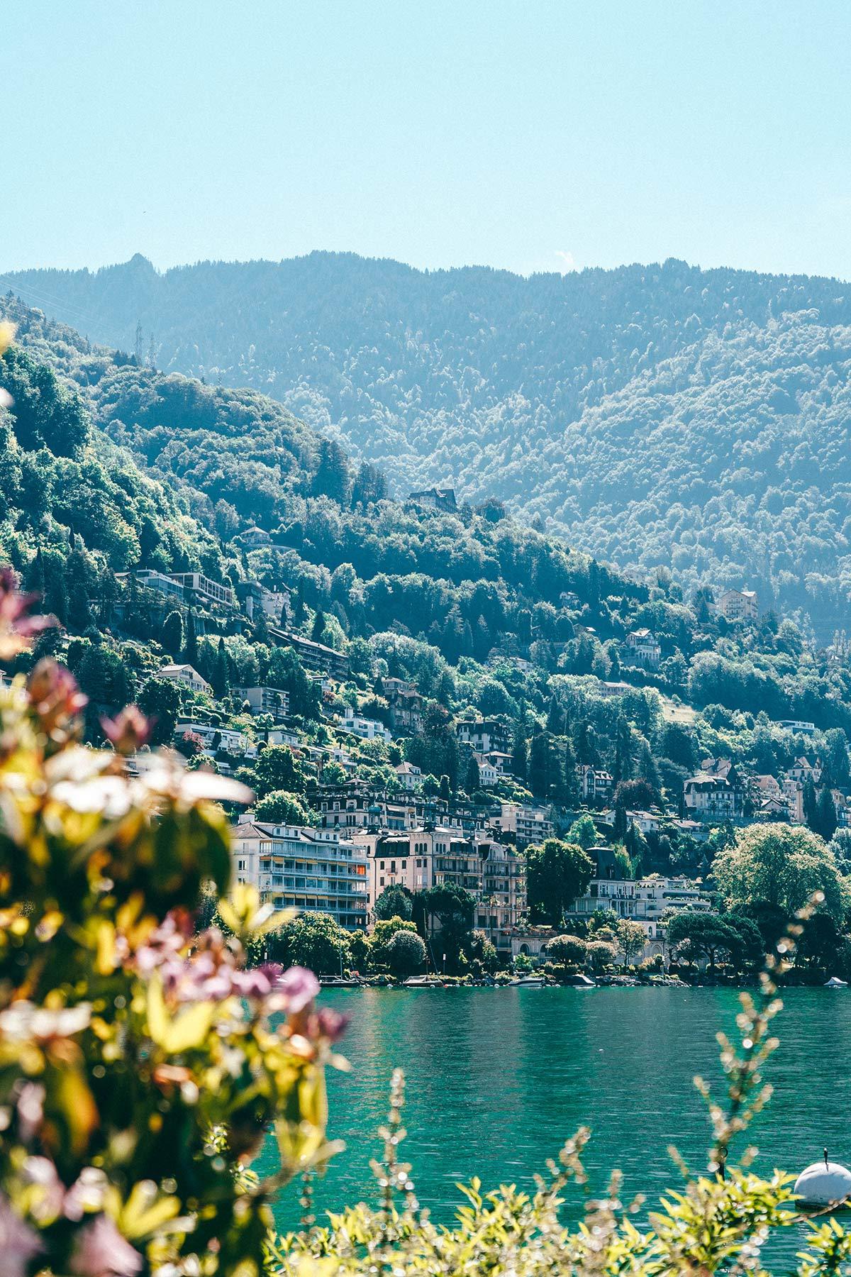 Montreux Genfersee Sehenswürdigkeiten