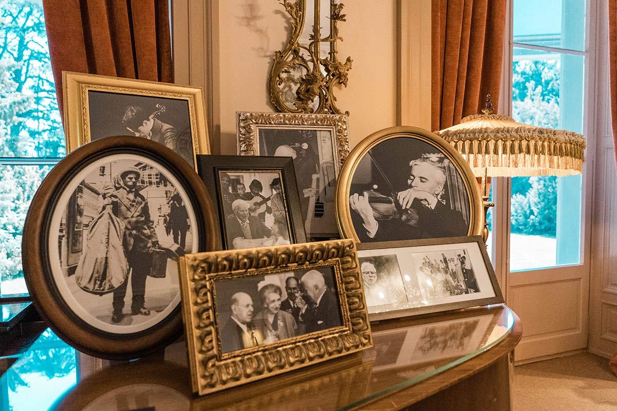 Privatfotos in Charlie Chaplins Wohnhaus