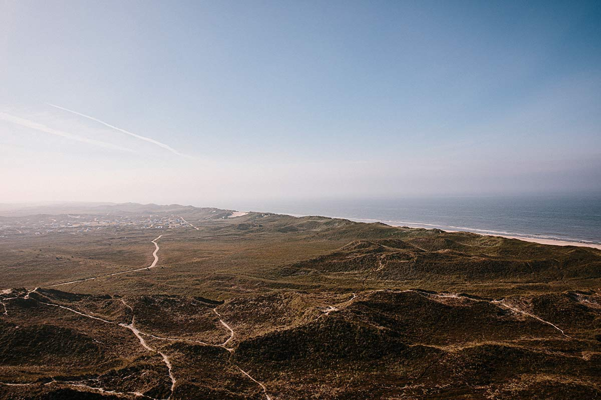 Panorama Lyngvig Fyr dänische Nordseeküste