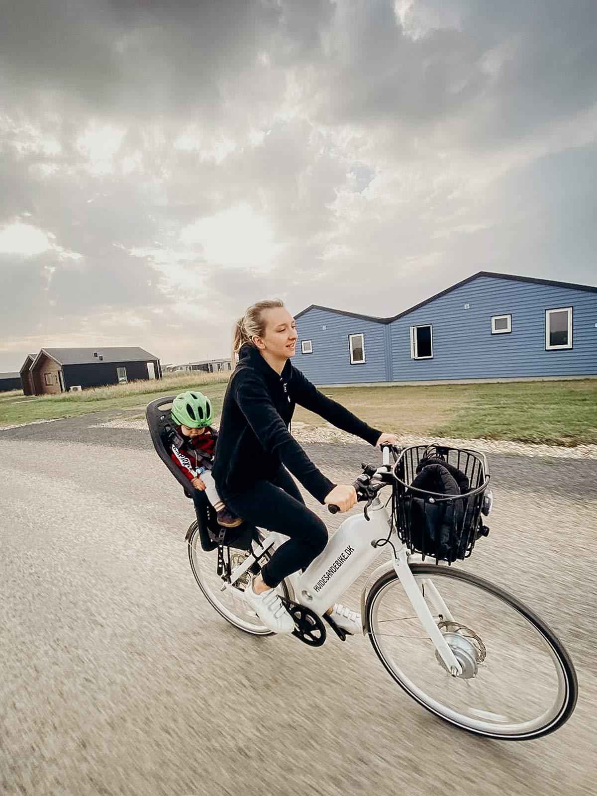 ebike tour Dänische Nordseeküste
